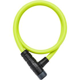ABUS Primo 5412K/85 Candado de Cable, verde/negro